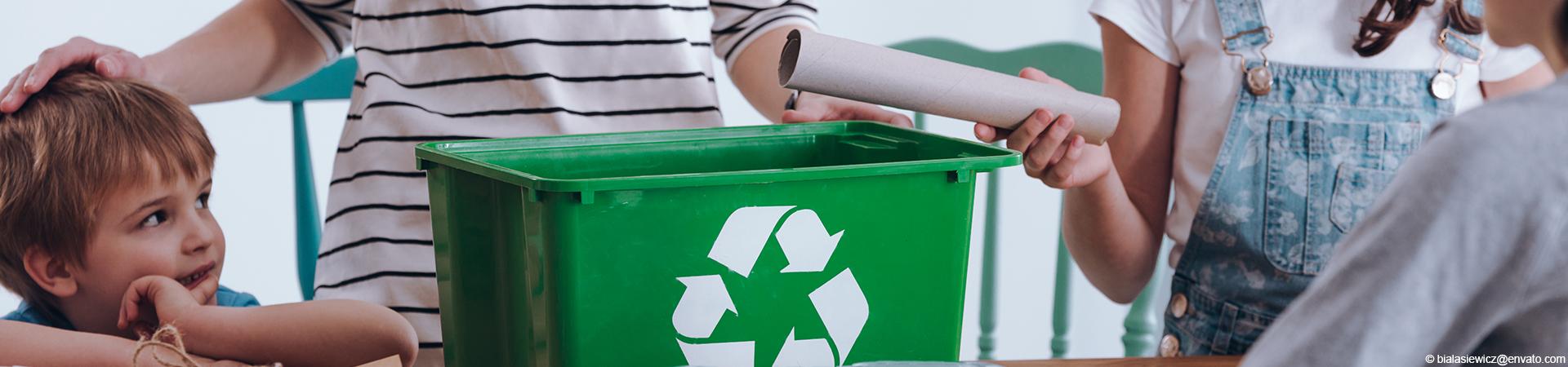 Wohnungsgenossenschaft Einheit Calbe eG - Müll trennen 2